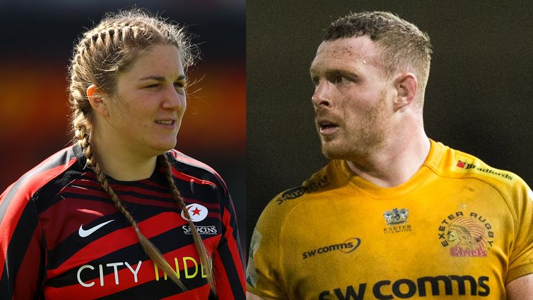 Sam Simmonds and Poppy Cleall named Rugby Players Association Player of the Year    Rugby Union News