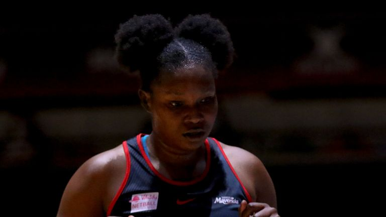 Razia Quashie's season is over after she sustained an Achilles injury in Round 19 (Image credit - Ben Lumely)