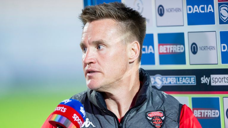 Super League: Richard Marshall calls on Salford Red Devils to raise game after
