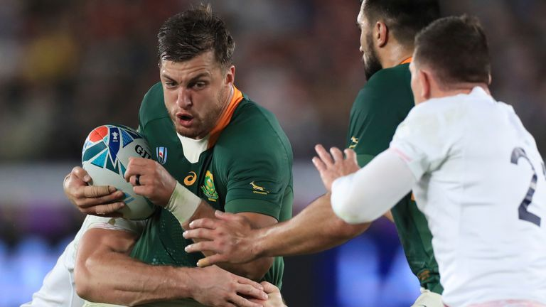 Handre Pollard is likely to start at fly-half against the Lions