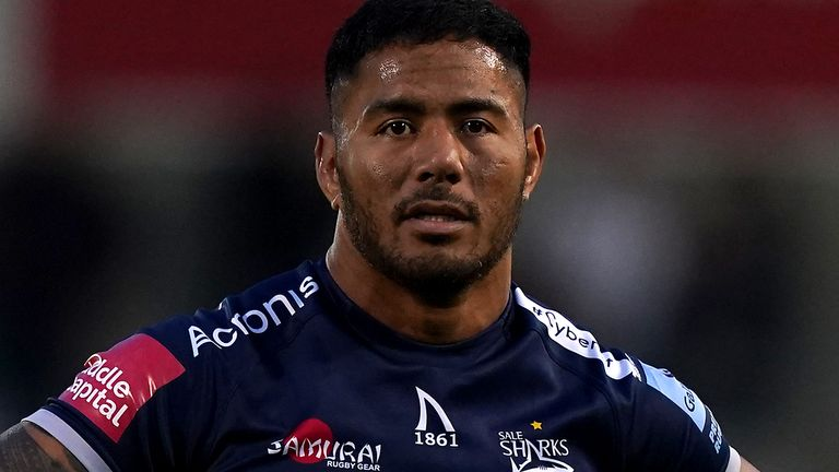 Manu Tuilagi: England centre 'fit and ready to go' if Eddie Jones comes calling