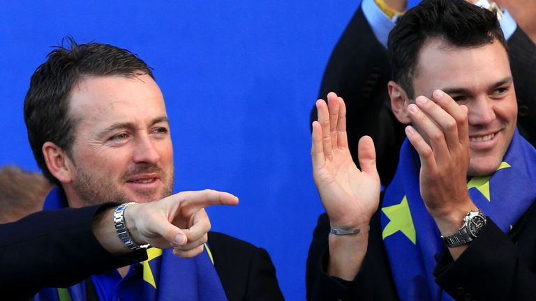Graeme McDowell and Martin Kaymer played on the same European team at the 2010, 2012 and 2014 Ryder Cup