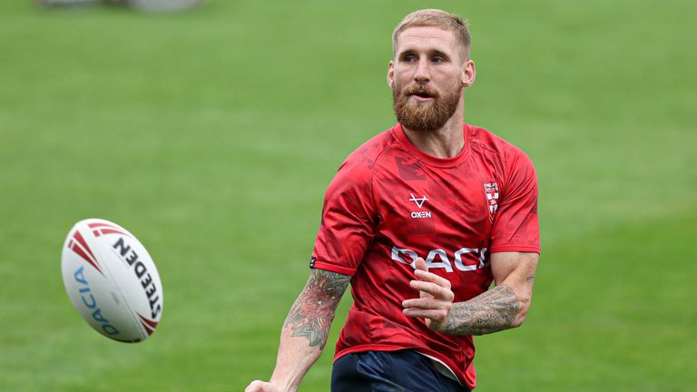 Sam Tomkins joins the Sky Sports team for Wednesday's Super League clash