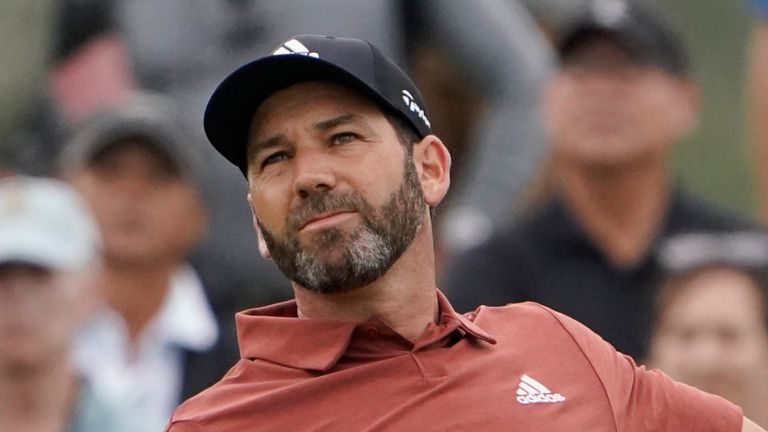 Sergio Garcia wants to qualify for Europe's Ryder Cup team as of right
