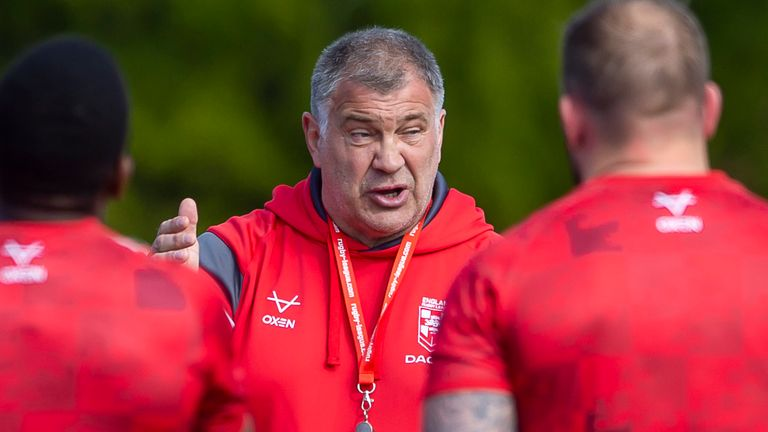 Shaun Wane has named his provisional 24-man England squad for the clash with the Combined Nations