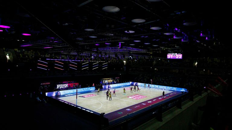 Loughborough Lightning were outstanding in Round 20 against Team Bath Netball (Image credit - Morgan Harlow)