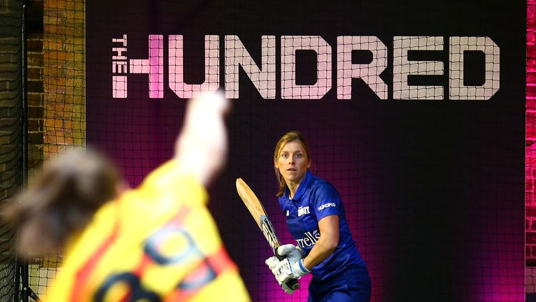 Knight will captain London Spirit in the inaugural edition of The Hundred