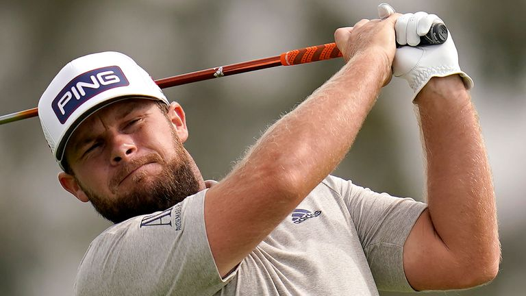 Tyrrell Hatton finished tied-sixth during The Open at Royal Portrush in 2019