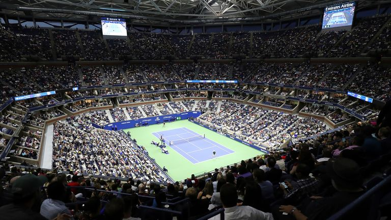 Arthur Ashe Stadium will see capacity crowds in attendance at this year's US Open