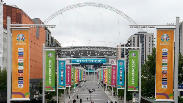 The Challenge Cup final will come six days after Wembley is set to host the Euro 2020 final
