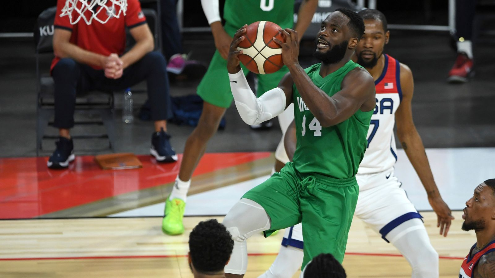 Olympics: Nigeria stun Team USA with shock win in Games' exhibition match in Las Vegas