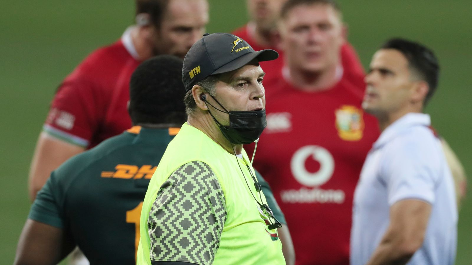 Rassie Erasmus: Lions forwards coach Robin McBryde confident there will no issues with officials in second Test