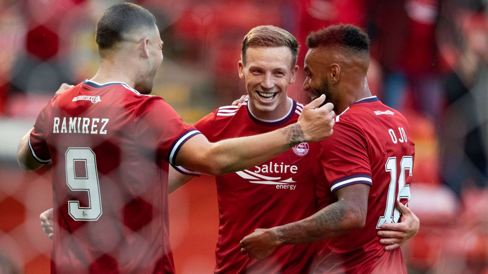 Ferguson at the double as Dons stroll to EC win