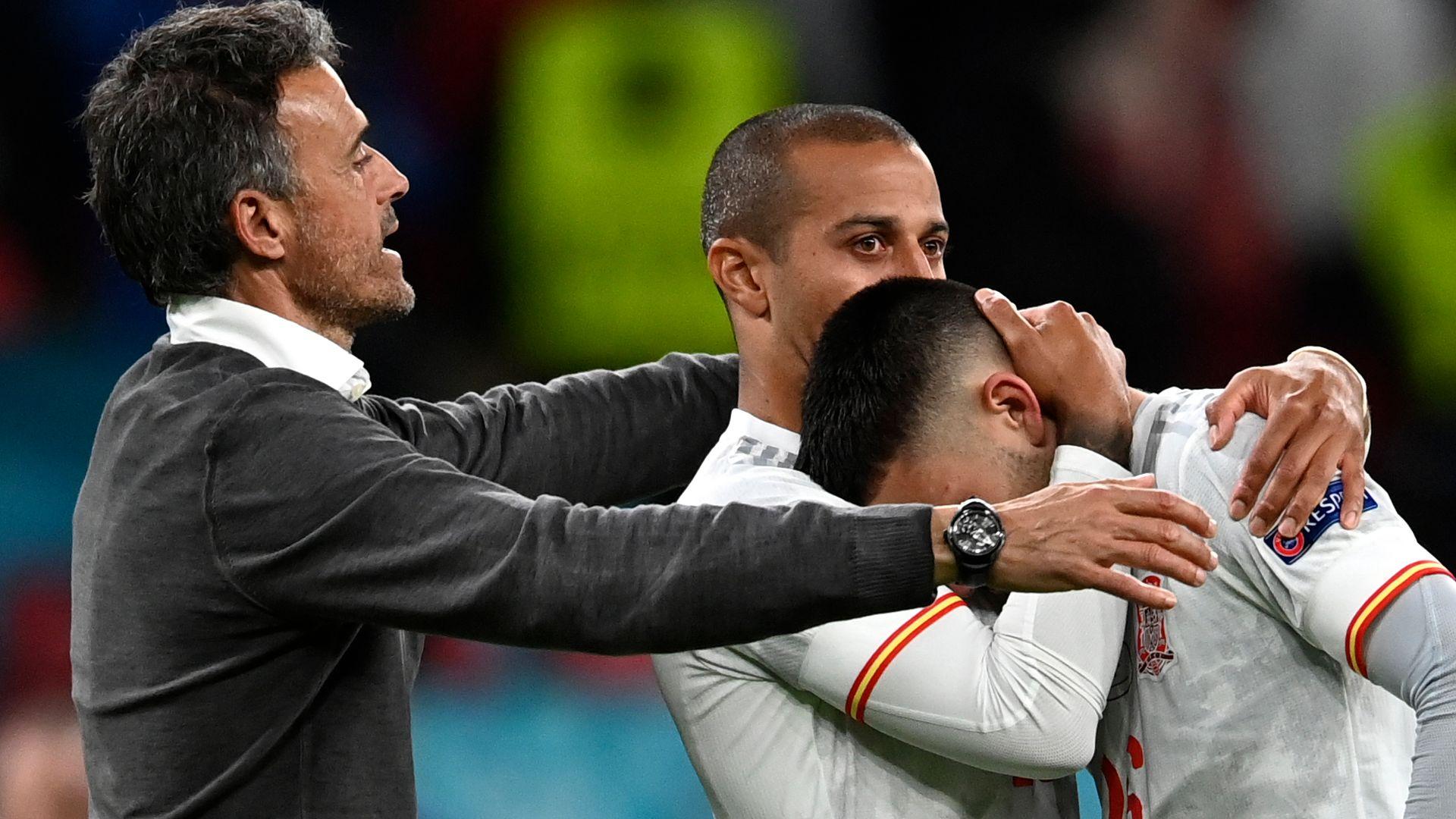 Enrique: Not a sad night | 'Morata was excellent'