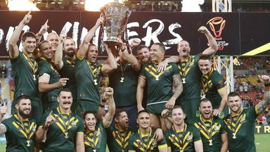 Australia are the reigning men's world champions after their win in 2017