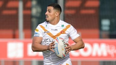 Yaha was one of six try scorers in the dominant win over Wakefield