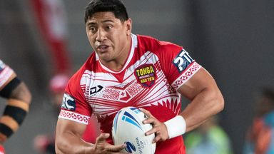 Jason Taumalolo helped Tonga reached the World Cup semi-finals in 2017