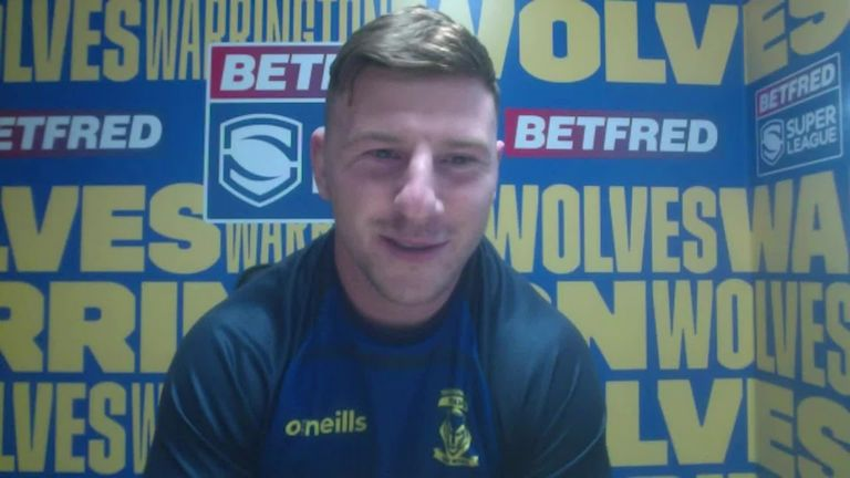 New Warrington Wolves signing George Williams speaks with Sky Sports reporter Jenna Brooks and lays out his targets