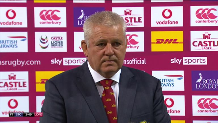 Warren Gatland says he and his coaches will be locked into some serious debate around the first Test team following British and Irish Lions' victory over Stormers