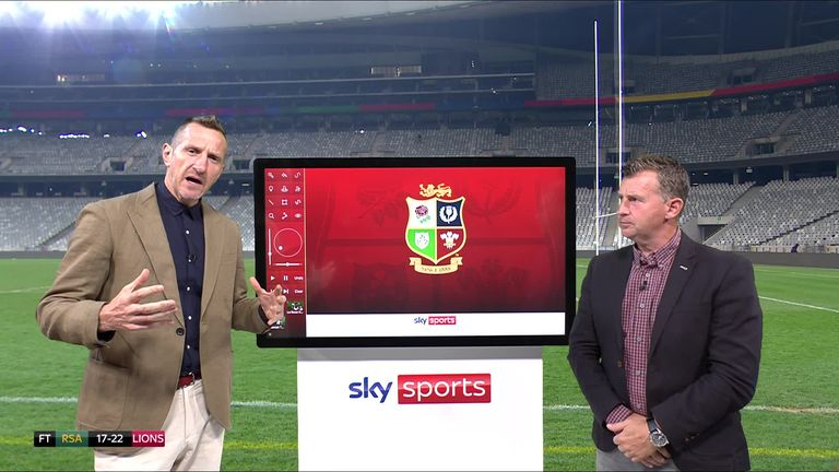 Highlights from the opening Test of the series between South Africa and the British and Irish Lions