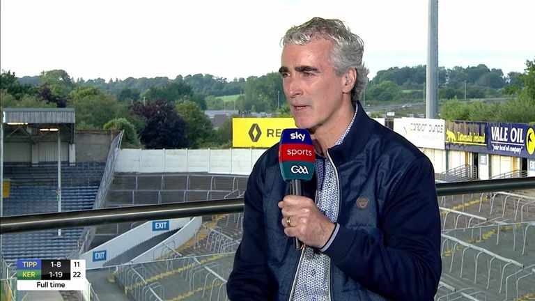Jim McGuinness has been hugely impressed with Kerry