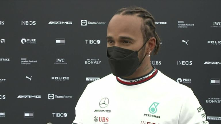 Lewis Hamilton delivers his verdict on Friday practice at the Red Bull Ring after topping the timesheets
