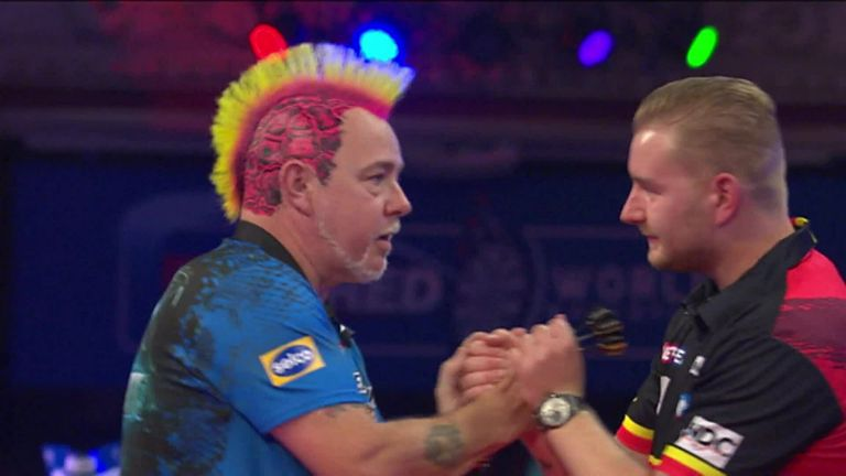 Here's the moment Peter Wright became the 2021 World Matchplay Champion.