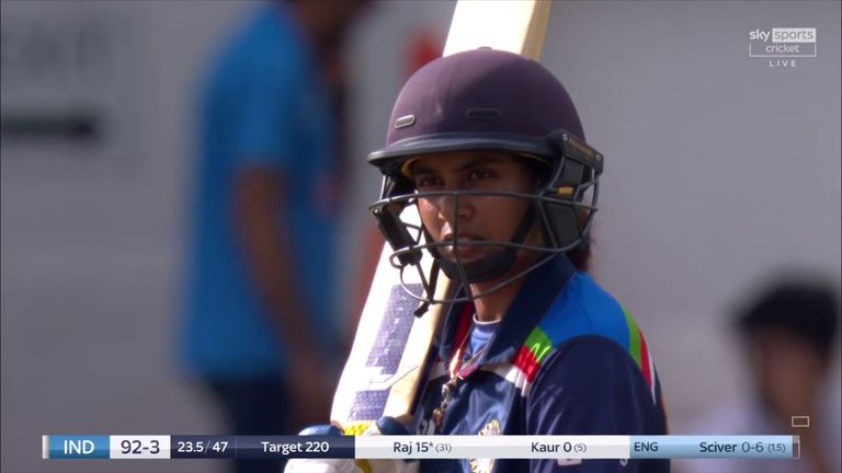 Mithali Raj becomes leading run-scorer in all international women's cricket, topping Charlotte Edwards' tally of 10,273 across all formats