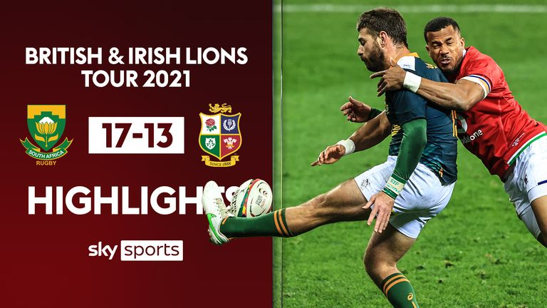 Highlights as British and Irish Lions fell to their first defeat of the tour against a strong South Africa 'A' side in Cape Town