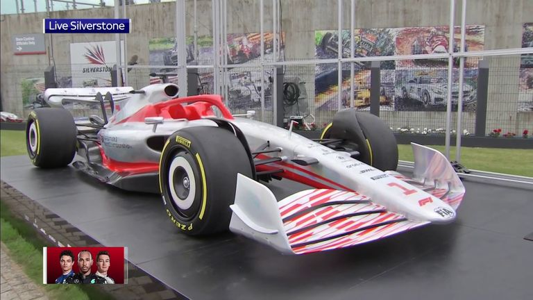 Sky Sports' Ted Kravitz joins reporter Craig Slater to discuss next year's F1 car as it is revealed for the first time, live on Sky Sports News