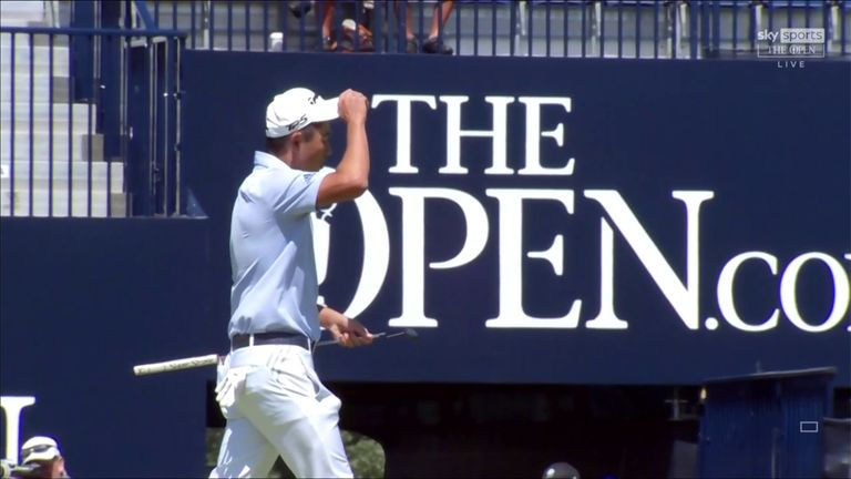 Nick Dougherty and Andrew Coltart review Collin Morikawa's second round at The 149th Open, where he threatened several records on his way to a six-under 64