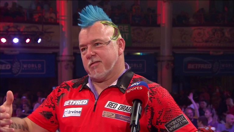 Peter Wright still was not happy with his game even though he defeated Michael Smith 16-7 to reach the semi-finals of the World Matchplay