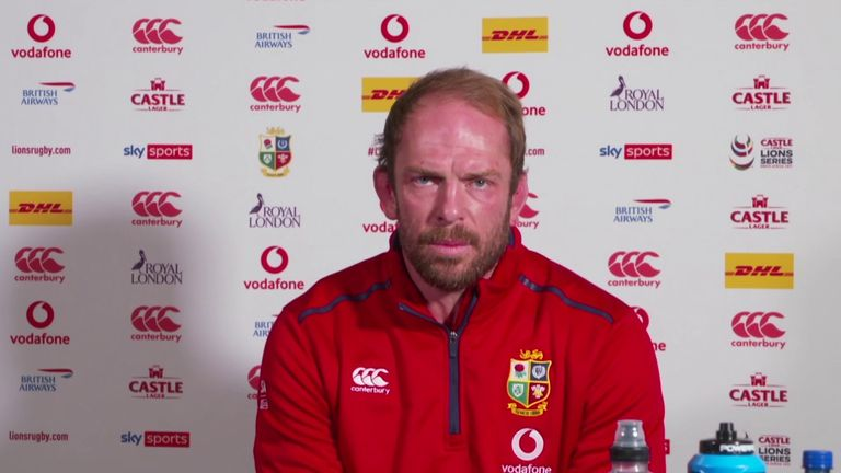 British and Irish Lions captain Alun Wyn Jones says every member of the squad will be required to play their part in the Test series against South Africa