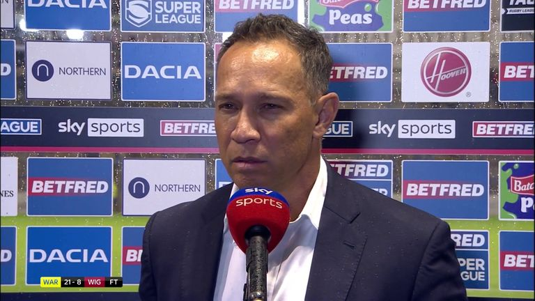 Wigan Warriors coach Adrian Lam believed his team were the better side despite losing and bemoaned some of the decisions that went against his team