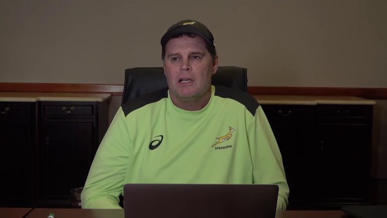 South Africa director of rugby Rassie Erasmus released an hour-long video criticising the refereeing in the first Test