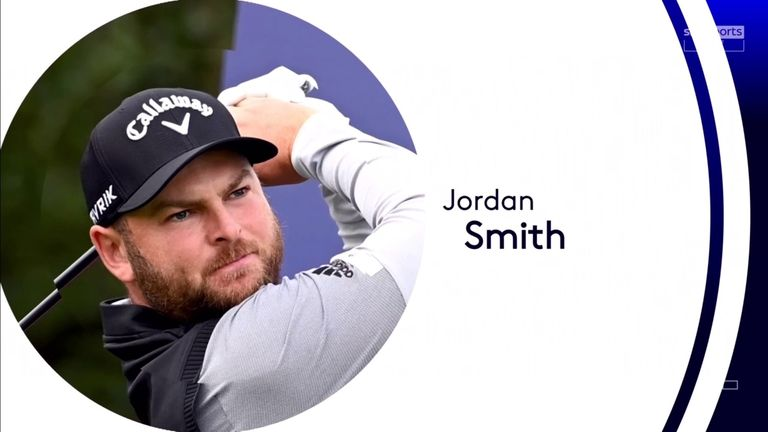 Highlights from Jordan Smith's opening round at the ISPS Handa World Invitational, where the Englishman jumped into a two-shot lead