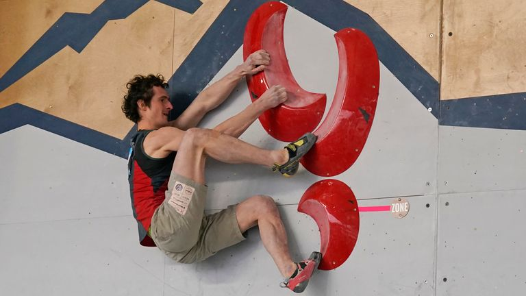 Czech Republic's Adam Ondra is considered one of the greatest climbers of his generation