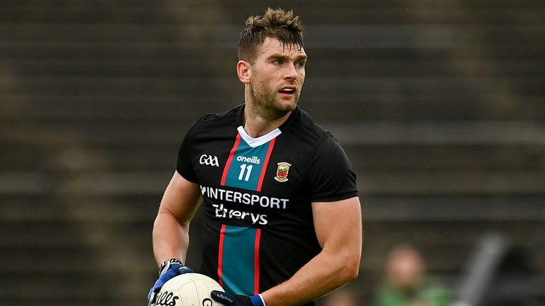 Aidan O'Shea made his 150th appearance for Mayo, between league and championship
