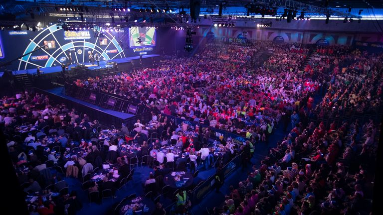 World Darts Championship: PDC Confirms Crowds Will Return to Alexandra Palace Later This Year |  Darts News