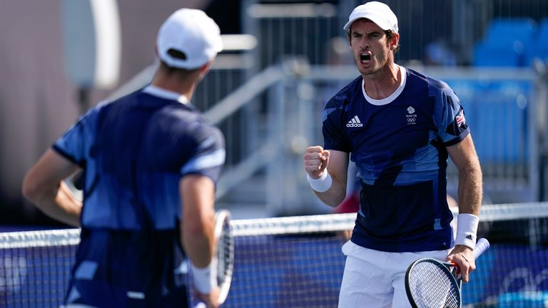 Andy Murray and Joe Salisbury suffer quarter-final defeat in their bid for an Olympic medal (AP)