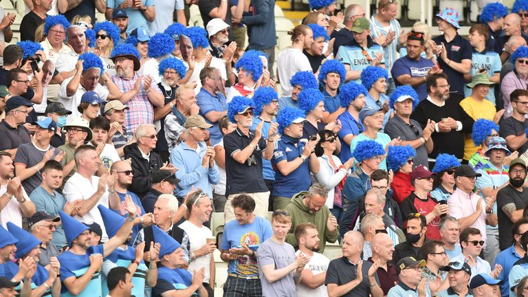 Edgbaston remembered the great Bob Willis and turned #BlueForBob to fight prostate cancer as England clinched a 3-0 ODI series sweep over Pakistan.