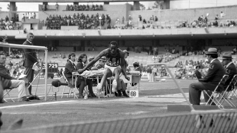 Beamon did not know straight away that he had shattered the world record
