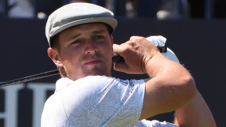 Bryson DeChambeau has had off-course distractions to deal with this week