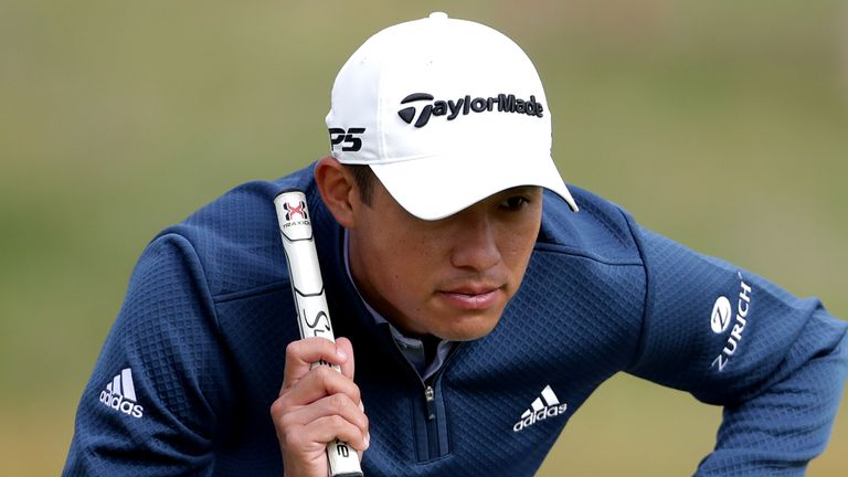 Morikawa is making his Open debut this week
