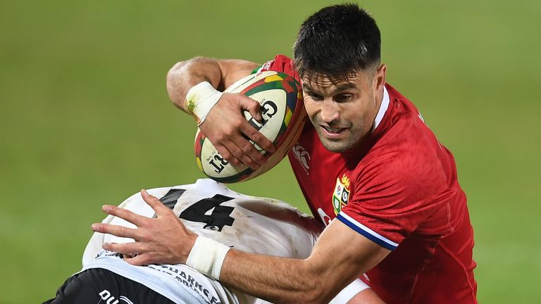 Experienced scrum-half and six-time Test Lion Conor Murray has replaced Ali Price in the starting XV
