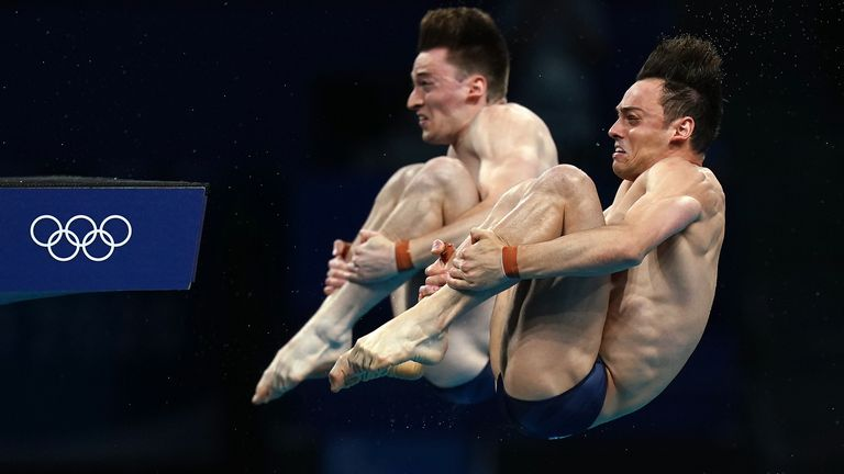 Tom Daley and Matty Lee finished with 471.81 points having never dropped out of the top two