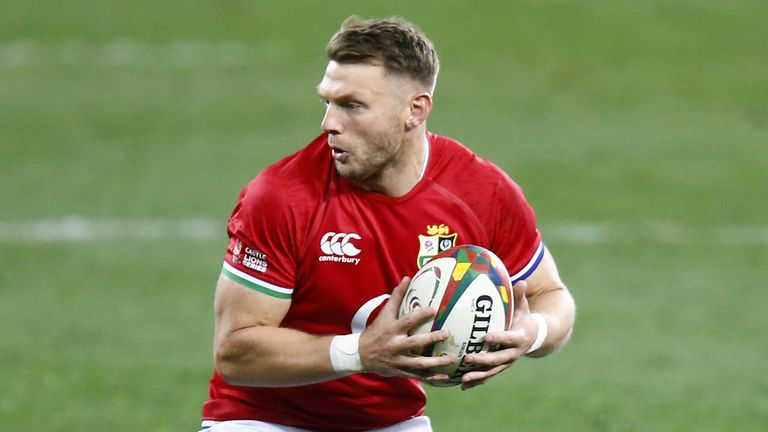 Dan Biggar kicked four penalties in the Lions victory as the Lions came from nine points down