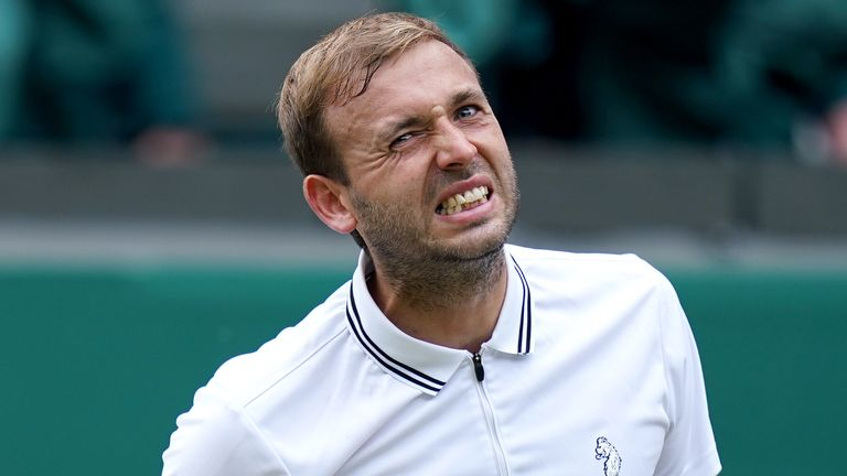 Dan Evans will not be going to this summer's Tokyo Olympics