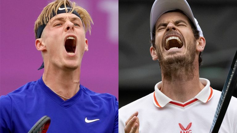 Denis Shapovalov will take on Murray for the first time