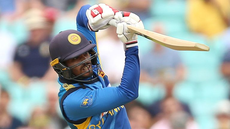 Dhananjaya de Silva scored a run-a-ball 91 for Sri Lanka, including 13 fours